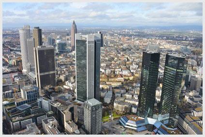 Deutsche Banken auf der Einkaufsliste internationaler Kreditbanken