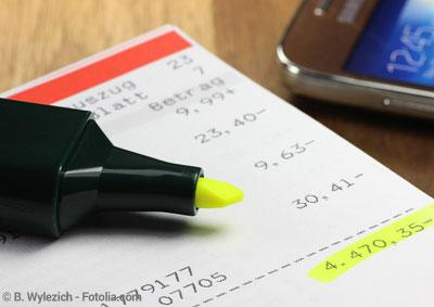 Zinsen Abzocke beim Dispokredit bzw. Dispositionskredit
