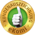 eKomi Award for customer satisfaction
