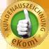 eKomi Auszeichnung für Kundenzufriedenheit