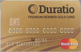 Duratio Gold Kreditkarte