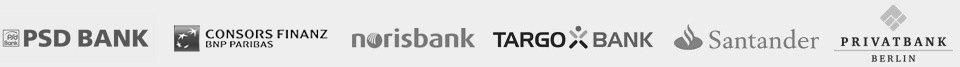 Parnterbanken für Online Kredite